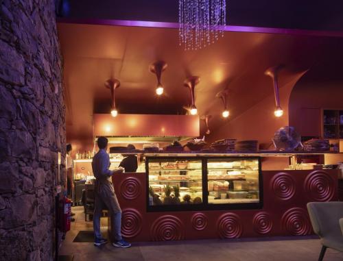 Mobiliário Gruta Café - Restaurante