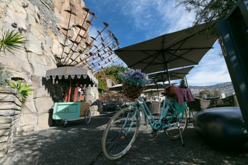 Bicicleta atrelado Gruta Café - Restaurante